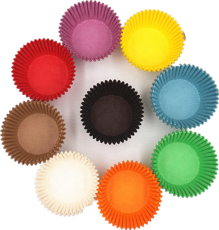 Cupcake case cupcake paper baking cups good quality imported colored paper round liners