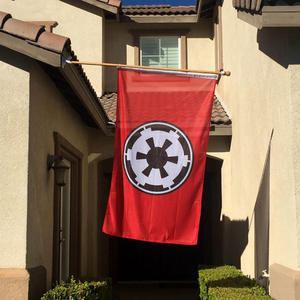 2019 nouvel Empire galactique Stormtrooper Alliance rebelle Mandalorian drapeaux rouges suspendus drapeau