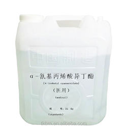 China Factory n-Butyl Cyanoacrylate Medical Glue Tissue Adhesive for Sale