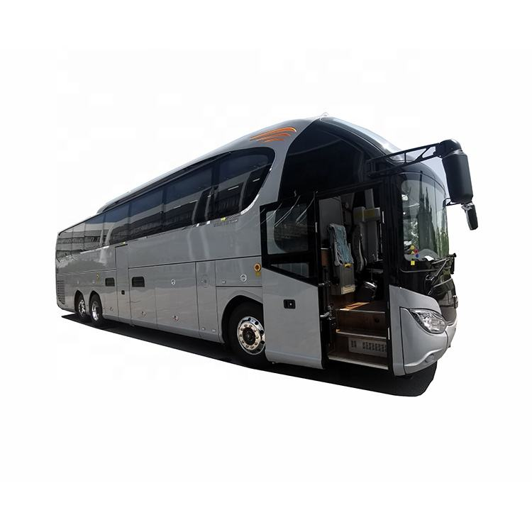 Hot sale 14m 50 seats 60 seats luxury bus 3 axles long-distance tourist coach