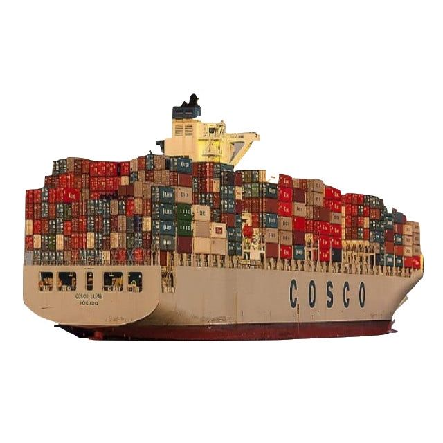 Cheap cost sea freight rate 20ft and 40ft new shipping dry container Including taxes and fees