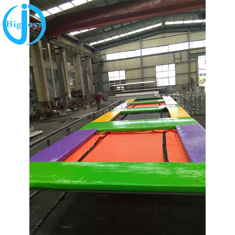 indoor trampoline park for kids/trampoline park outdoor with foam pit/commercial trampoline park for sale
