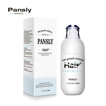 Pansly Hair Growth inhibitor Smooth Repair Skin Stop Hair inhibitor Cream Face Body Pubic Bikini Leg Armpit Hair Removal