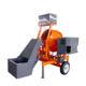 700L self loading concrete cement mixer belle concrete mixer with manual handle