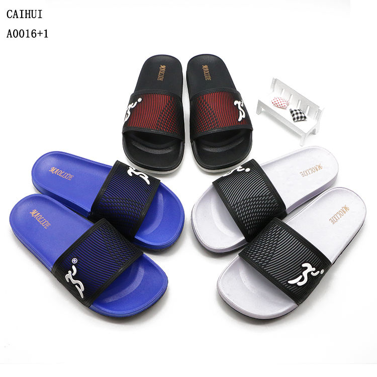 High quality personalized slide slippers men chappl sleepers for boys footwear from china