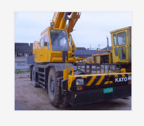Used kATO Truck Crane 45 ton Good performance Used KATO 45Ton Crane From China