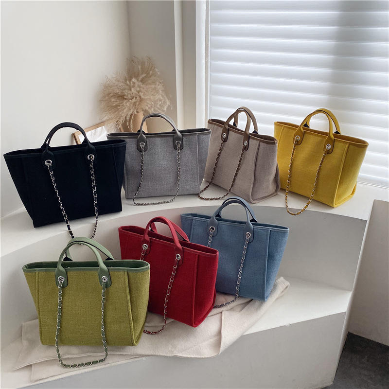 big handbags for women canvas handbag tote bag chain handbags women bags with chain bag ladies crossbody