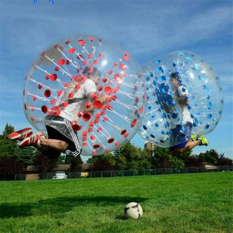 Factory Price Adult Tpu / Pvc Bumper Suit Bubble Football Soccer Outdoor Gameinflatable Body Zorb Ball
