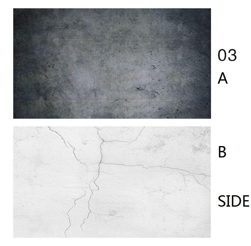 Photo Studio 2sides Printed Backdrops Marble Background