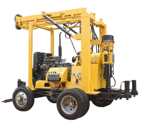 600m Deep Truck Core mounted Borehole water well Drilling Rig machine