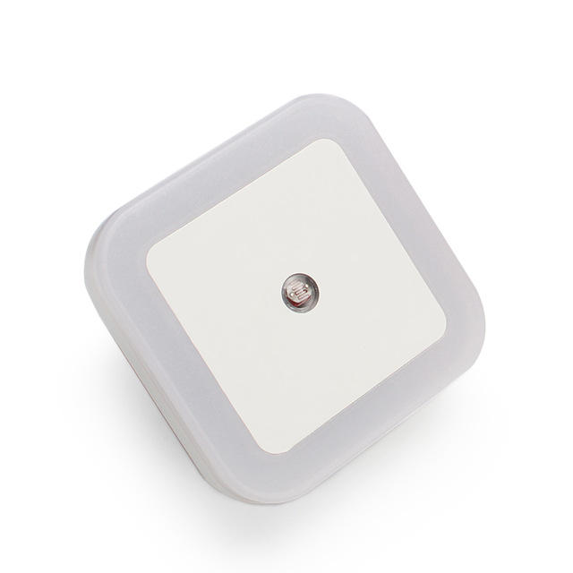 Plug in Wall Light Sensing LED Automatic Dusk Dawn Photocell Sensor Night Light Electric Bedside Smart Home Sensor Lamp