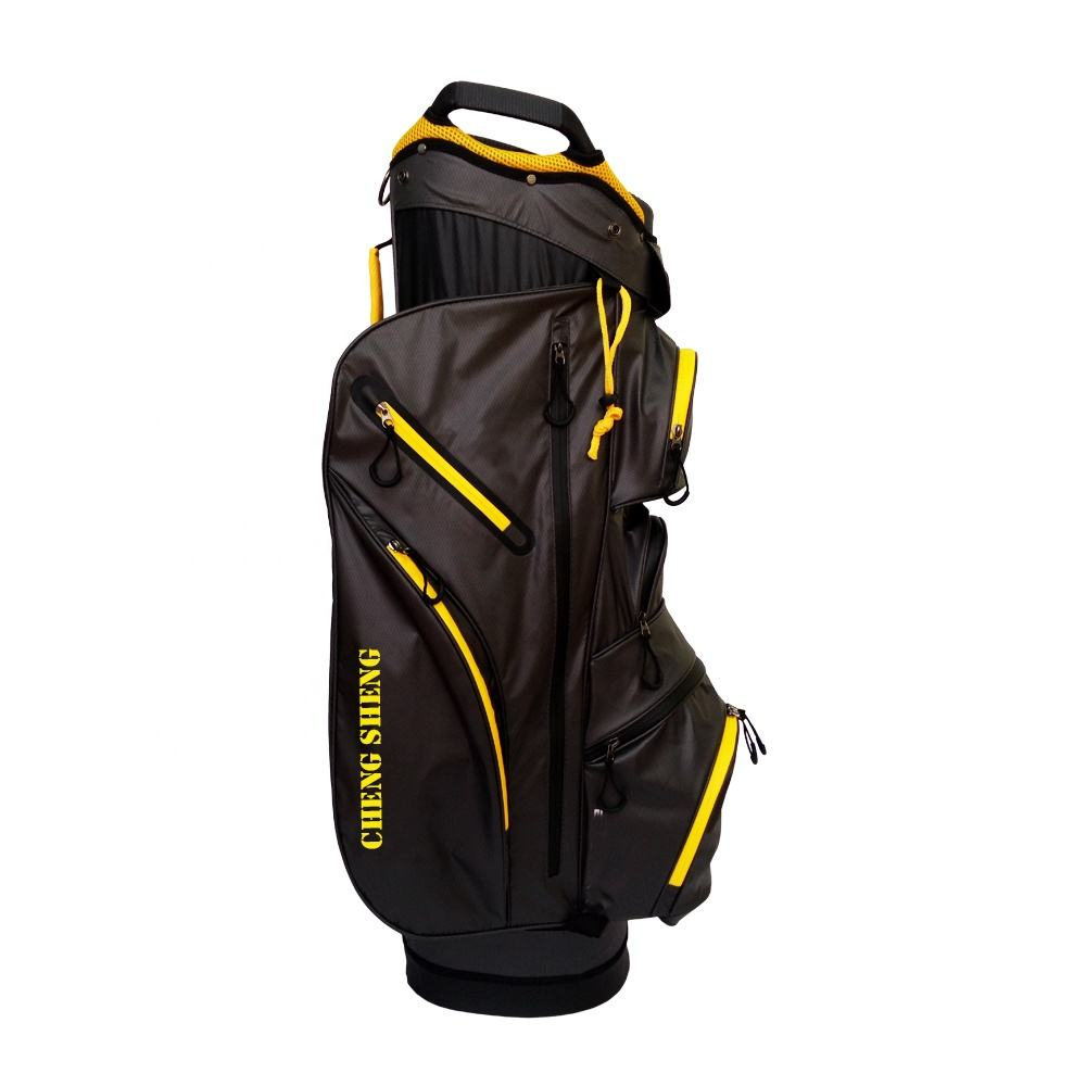 14 Way Lite Water Resistant Golf Cart Bag With Integrated Handle