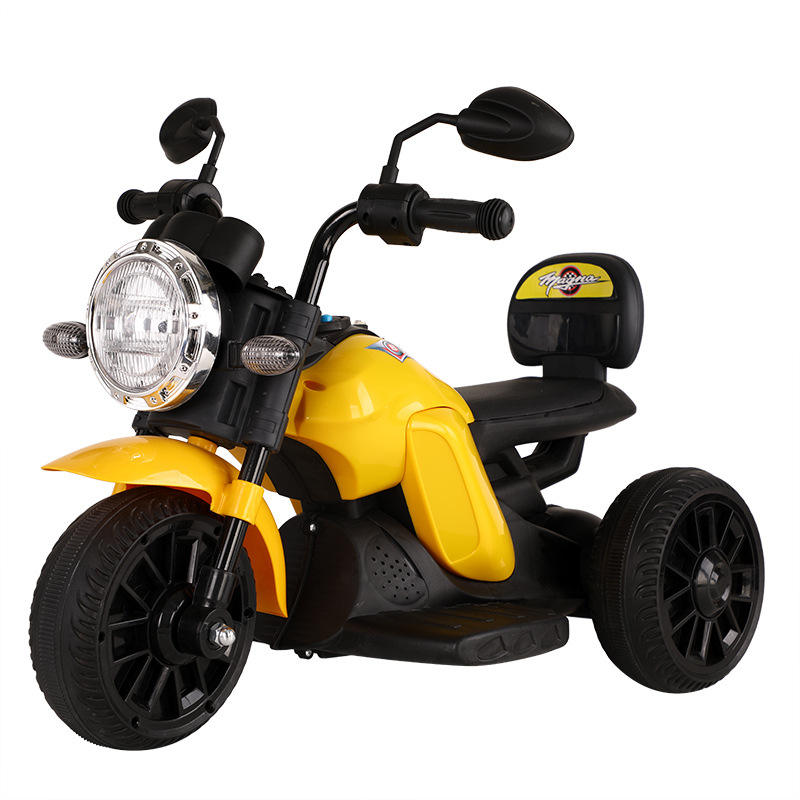 out/indoor children toys car baby ride on bike Kids Electric Motorcycle motor tricycle 3 wheels plastic battery power