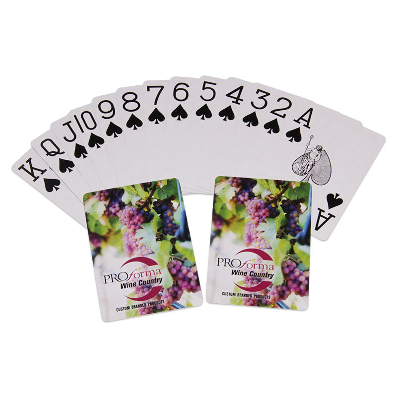 Sublimation Blank Game Card Movie Poster Playing Cards