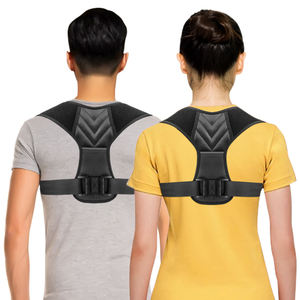 2019 CE Amazon hot sale factory adjustable upper back posture corrector