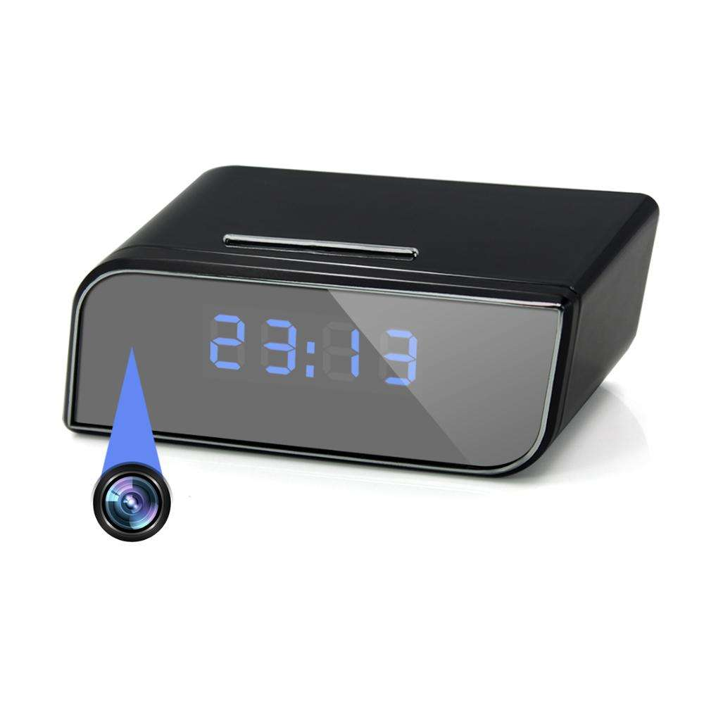 2020 Trending Amazon Spy Gadget Hidden Camera Spy 3 Year Warranty Long Time Recording Home Security Surveillance Clock Camera