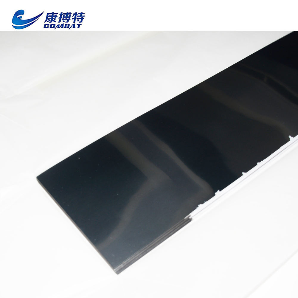 0.1mm Thick 99.95% Pure Polished heat shield Tungsten Foil Sheet