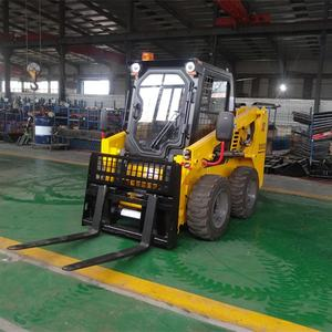 Cheap 800kg Rated Load Skid Steer Loader Pallet Fork Attachment