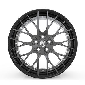 High performance polar grey carbon fiber wheel 20 inch rim