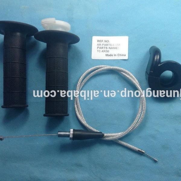Throttle Cable Grip Casing Set for Honda C CA CB CL CRF CS CT SL ST TL XL XR Z