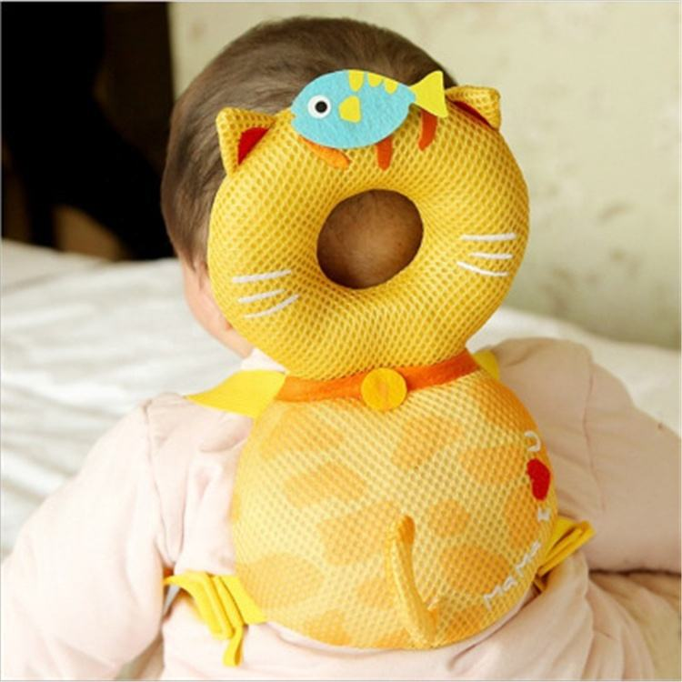 Baby Toddlers Head Protective Adjustable Safety Pads Cushion Baby Back Protection Prevent Adjustable Infant
