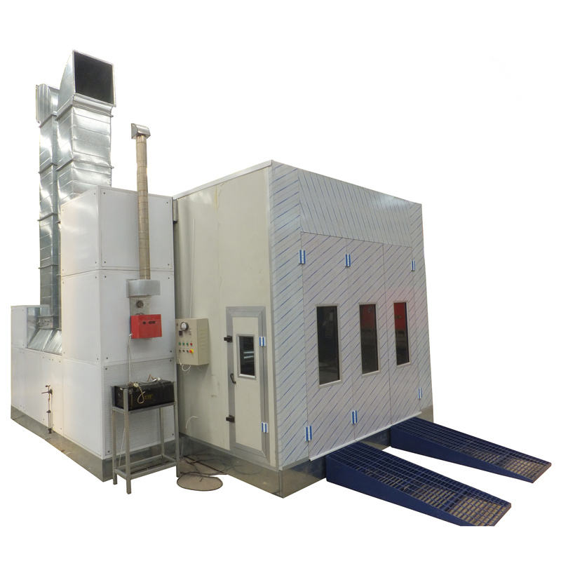 New China gold supplier Alibaba express CE certified spray booth, car spray booth oven, paint zoom