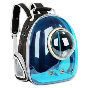 Space Capsule Pet Bag Portable Backpack Breathable Cat Bag Dog Outdoor Shopping Leisure Pet Astronaut Bag