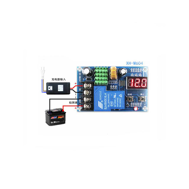 A17-- XH-M604 Battery Charge Control Module Digital Fully Powered Off Overcharge Protection Switch 6-60V