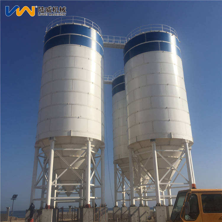 50 100 150 ton prices of sheet-assembled cement silo for concrete mixing station