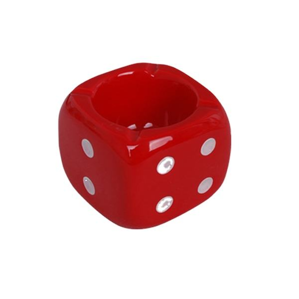 Special Dice Shape personalize Ashtray