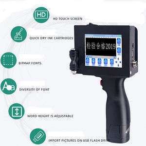 Portable Expiration Date Stamp Hand Held Inkjet Batch Code Printing Coding Machine
