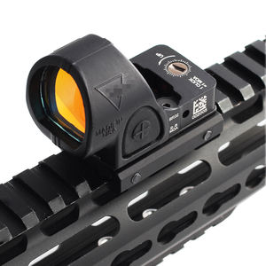 SRO Mini RMR Red Dot Sight 2.5 moa Optic Reflex Sight Scope Collimator fits 20mm Weaver Rail For Glock Hunting Rifle Airsoft