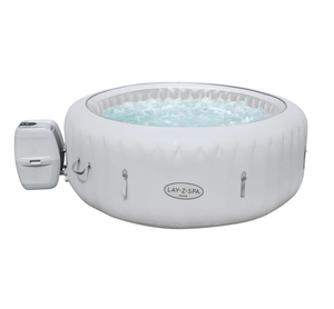 Bestway 60013 4-6 person Lay-Z-SPA Siena AirJet Outdoor Swim Bath Inflatable Jacuzzi Hot Tub Spa