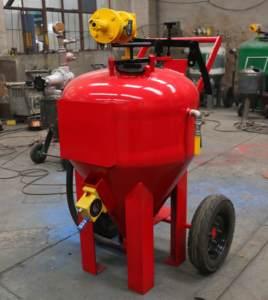 rust paint removing machine / sand blasting equipment for sale
