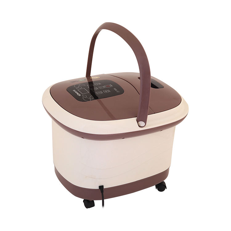 Health care pedicure basin heated electric foot spa bath massager