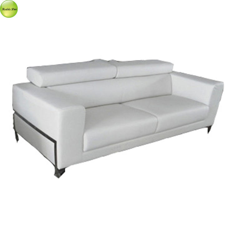 Italian white leather sofas for bedroom made in China