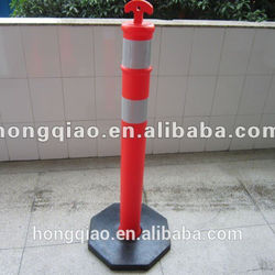High Quality Road Safety Items T-Top Recycled Plastic Road Fence Post