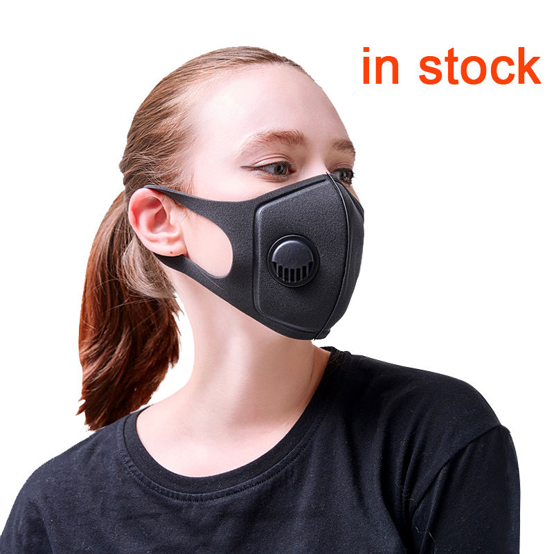 in stock China anti pollution protective your own nose washable winter sport airsoft respirator blue biker CE 3d dust mask