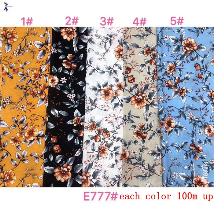 Wholesale high quality 45s rayon viscose fabric print ready goods