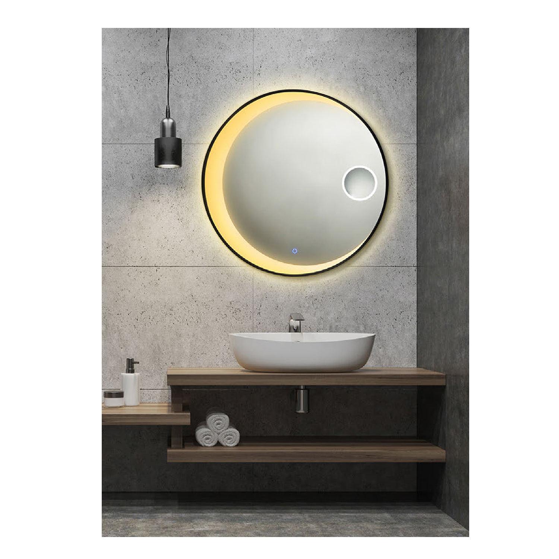 China India Bathroom Mirror