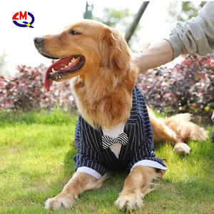 Wholesale Dog Shirt Puppy Pet Dog Clothes  Stylish Suit Bow Tie Costume