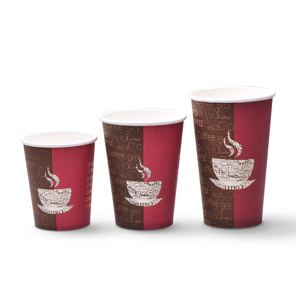 custom disposable 100% wooden paper cups china paper coffee cups