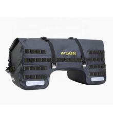 IPSON Customized Outdoor PVC 50L 70L Dry Luggage Carry Tool  Waterproof Duffel   motorcycle saddle bag Seat bag Tail Bag