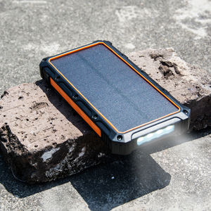 Portable Mini Outdoor waterproof IP65 mobile power bank battery solar charger 20000mah