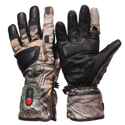 Savior OEM ODM rechargeable lithium battery powered heated hunting gloves for winter