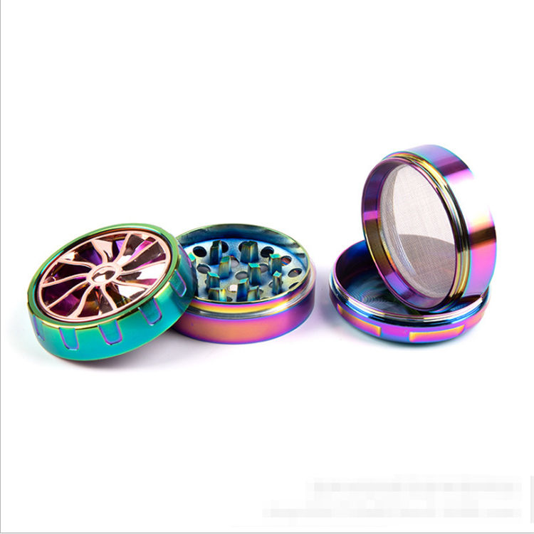 Grinder Weed Premium Design Wholesale Price Alloy diameter Zinc 68mm Herb 63mm * height