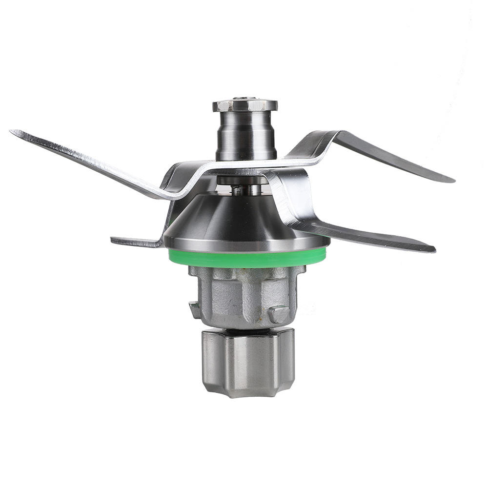 Food processor blade with food standard materials