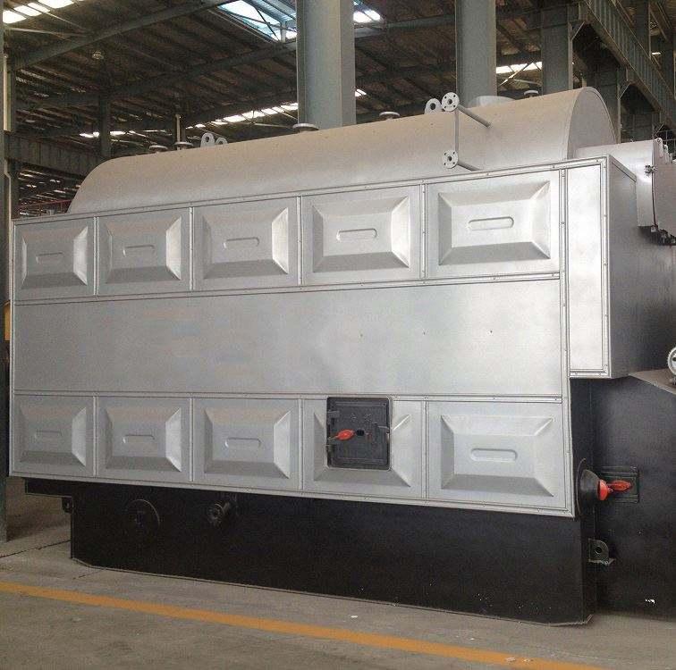 6t H 수평 자동 석탄 증기 터빈 보일러 Mw 발전소