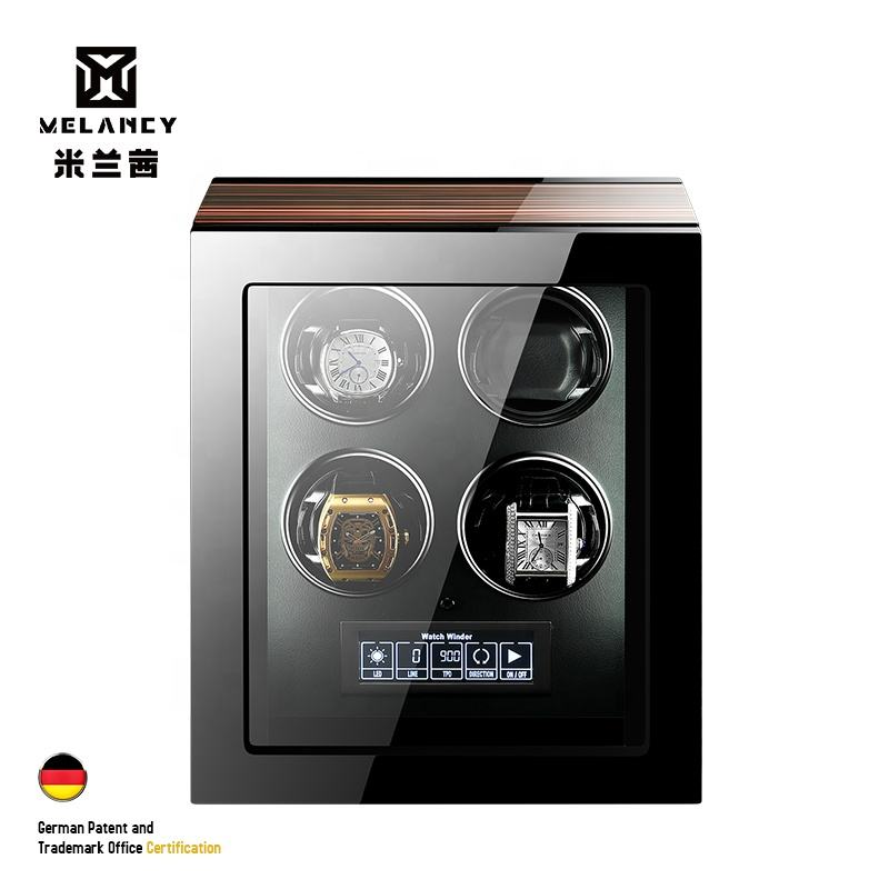 New Arrivals High Quality hot sale Automatic Black/White Watch Winder with Mabuchi Motor for watch men and women