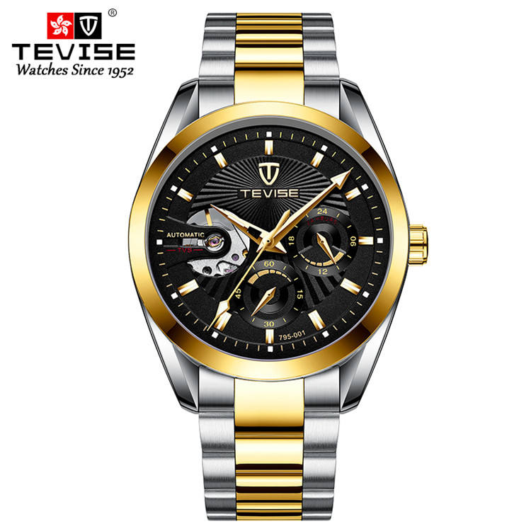 OEM logo watch optional design visible movement watch and luxury smart watch 2020